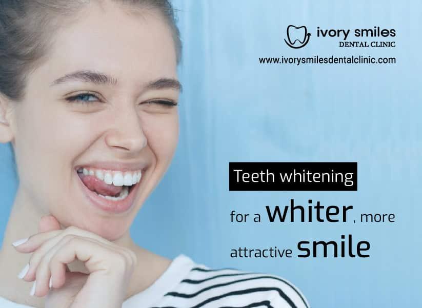 Tooth Whitening, Bleaching