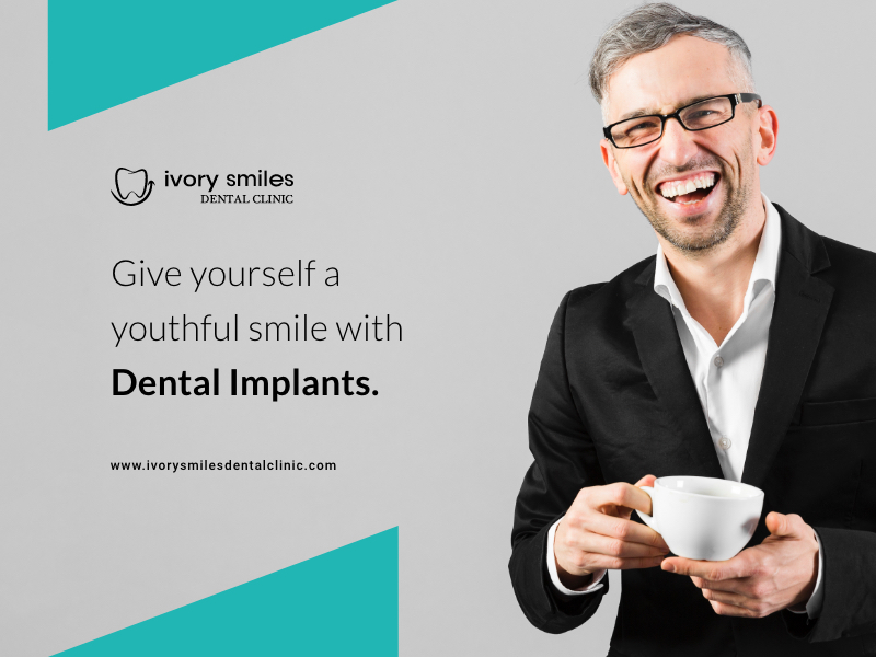 Look Younger With Dental Implants!!!!