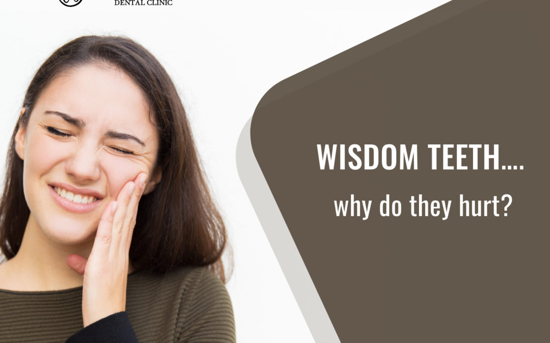 Wisdom teeth? Why do they hurt?
